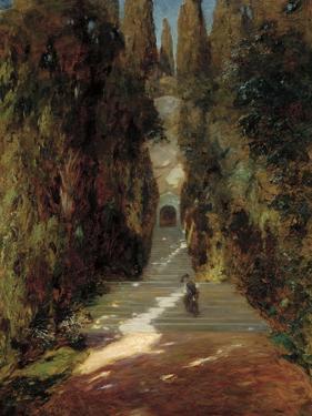 A Messa Prima, 1885 by Giovanni Segantini