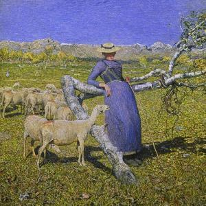 Afternoon in the Alps, 1892 by Giovanni Segantini