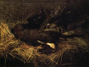 Dead Chamois, 1882 by Giovanni Segantini