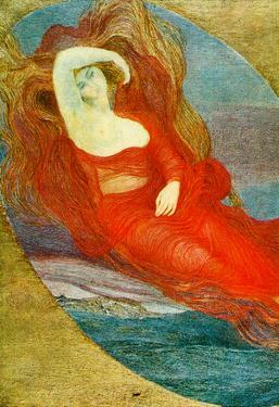 Giovanni Segantini Goddess of Love Art Print Poster