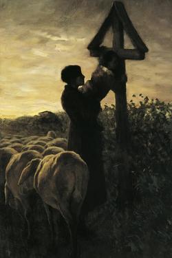 Kiss Cross by Giovanni Segantini