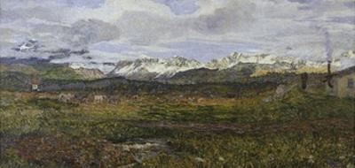 Landscape on Maloja or Return to His Hometown, 1895