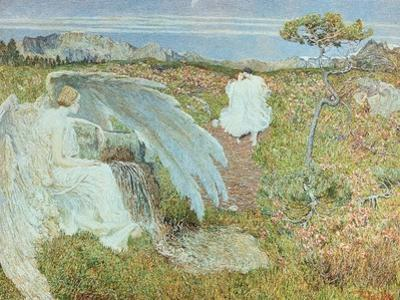 Love at the Fountain of Life, 1896 by Giovanni Segantini