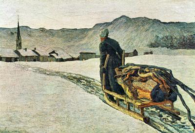 Giovanni Segantini Return from the Forest Art Print Poster