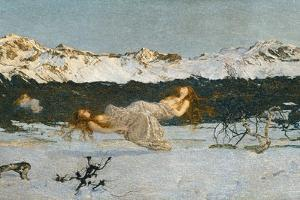 The Punishment of Lust, 1891 by Giovanni Segantini