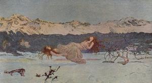 'The Punishment of Luxury', 1891 (1935) by Giovanni Segantini