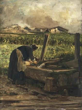 The Washer at the Fountain, 1887