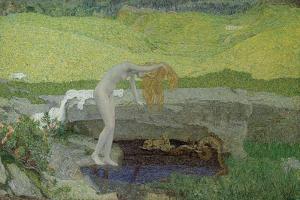 Vanity (The Source of Evi) by Giovanni Segantini