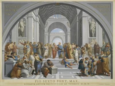 The School of Athens, Ca. 1771-79