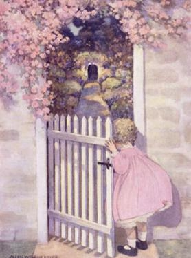 Girl at the Garden Gate