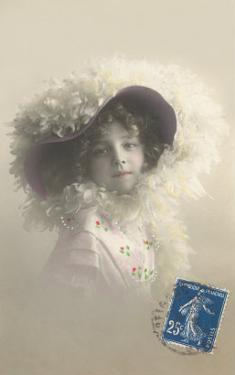 Girl in Feathered Hat