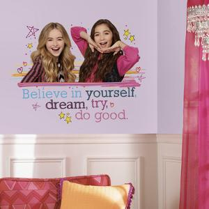 Girl Meets World Believe in Yourself Peel and Stick Giant Wall Decals