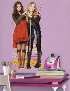 Girl Meets World Riley & Maya Peel and Stick Giant Wall Decals