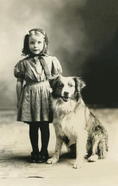 Girl with Mutt