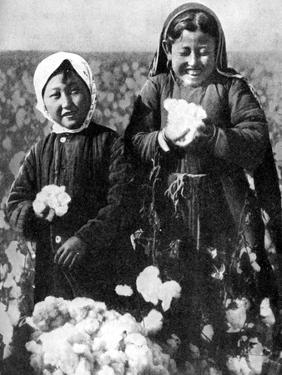 Girls in a Cotton Field, Kazakhstan, 1936