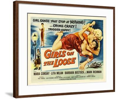 Girls on the Loose -  Style--Framed Poster