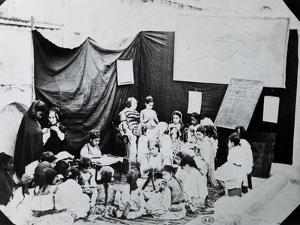 Girls' School in Algeria, 1860