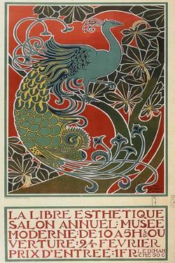 La Libre Esthétique, 1898 by Gisbert Combaz