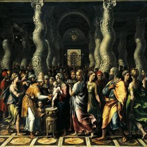 Circumcision, 1521-1522 by Giulio Romano