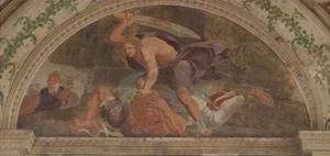 David Slaying Goliath (Loggia Di David) by Giulio Romano