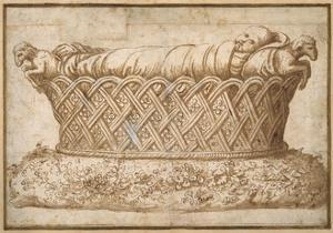 Design for an Infant's Tomb by Giulio Romano