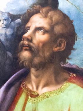 Head of a Saint by Giulio Romano