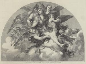 The Assumption of the Magdalen by Giulio Romano