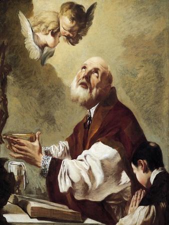 Communion of St Philip Neri, 1750-1760