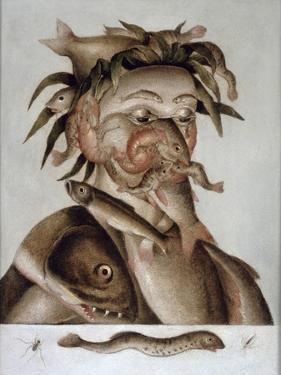 An Allegory of Water by Giuseppe Arcimboldo