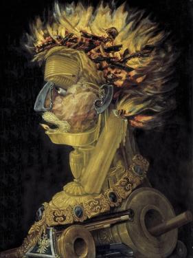 Fire, 1566 by Giuseppe Arcimboldo