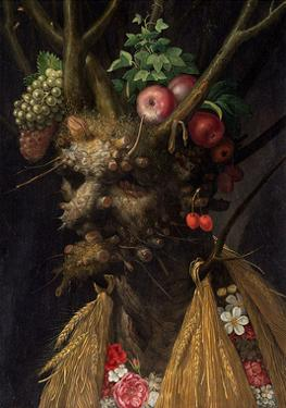 Four Seasons in One head by Giuseppe Arcimboldo