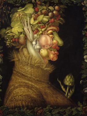 Giuseppe Arcimboldo, Summer, 1573 by Giuseppe Arcimboldo