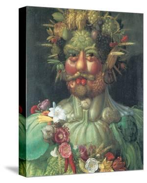 Rudolph II As Vertummus by Giuseppe Arcimboldo