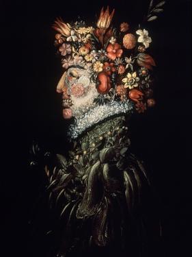 Spring, 1570-1575 by Giuseppe Arcimboldo