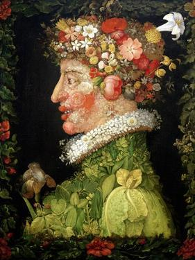 Spring, from a Series Depicting the Four Seasons, 1573 by Giuseppe Arcimboldo