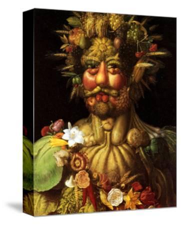 Surreal Portrait of Emperor Rudolf II, 1590 by Giuseppe Arcimboldo