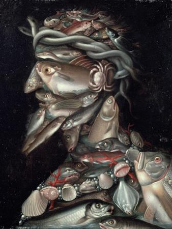 The Admiral by Giuseppe Arcimboldo