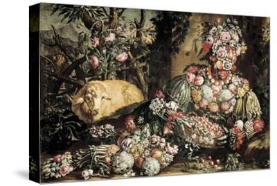 The Spring by Giuseppe Arcimboldo