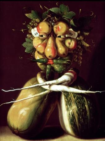 Whimsical Portrait by Giuseppe Arcimboldo