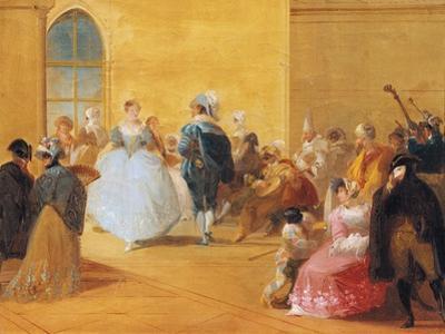 Masquerade Ball by Giuseppe Bernardino Bison