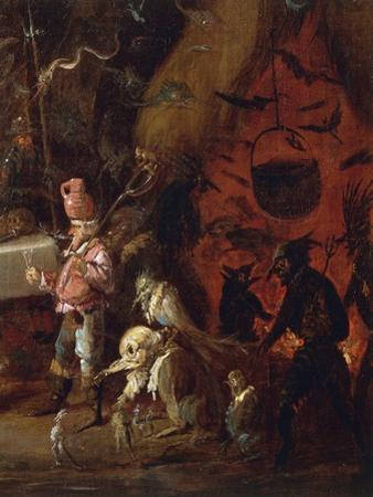 Witches Meet by Giuseppe Bernardino Bison