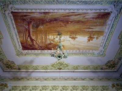 Stucco Decoration and Romagna Landscape