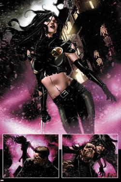 Daken: Dark Wolverine No.8: Panels with X-23 by Giuseppe Camuncoli