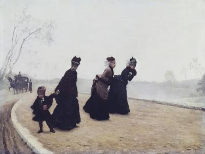A Walk, 1874