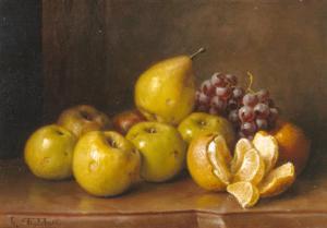 Stilll Life of Fruit by Giuseppe Falchetti