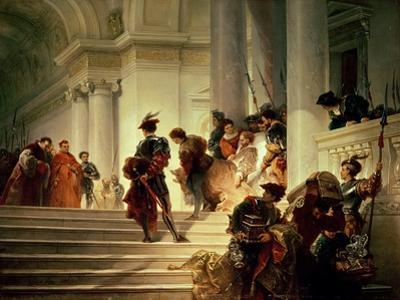 Cesare Borgia Leaving the Vatican by Giuseppe-lorenzo Gatteri