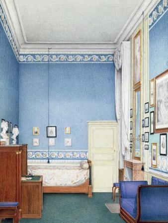 Bedroom of Marie Louise of Parma, 1832
