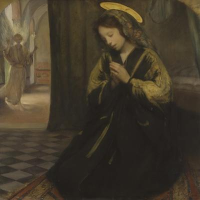 Annunciation by Giuseppe Ricci