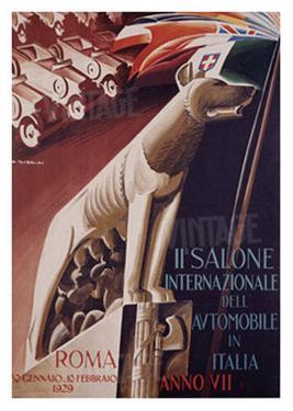 2nd Salone Automobile Italia by Giuseppe Riccobaldi