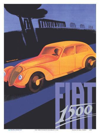 Fiat 1500 - The Appian Way (Ancient Rome Road)